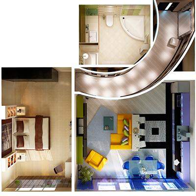 Дизайн-проект квартиры в Москве