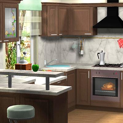 Профессиональный дизайн-проект кухни в Москве