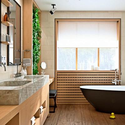 Профессиональный дизайн-проект ванной в Москве